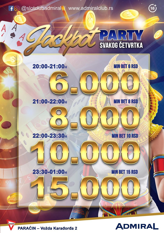 Jackpot Party – Paraćin