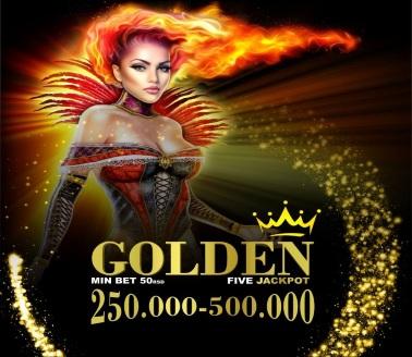 GOLDEN FIVE JACKPOT