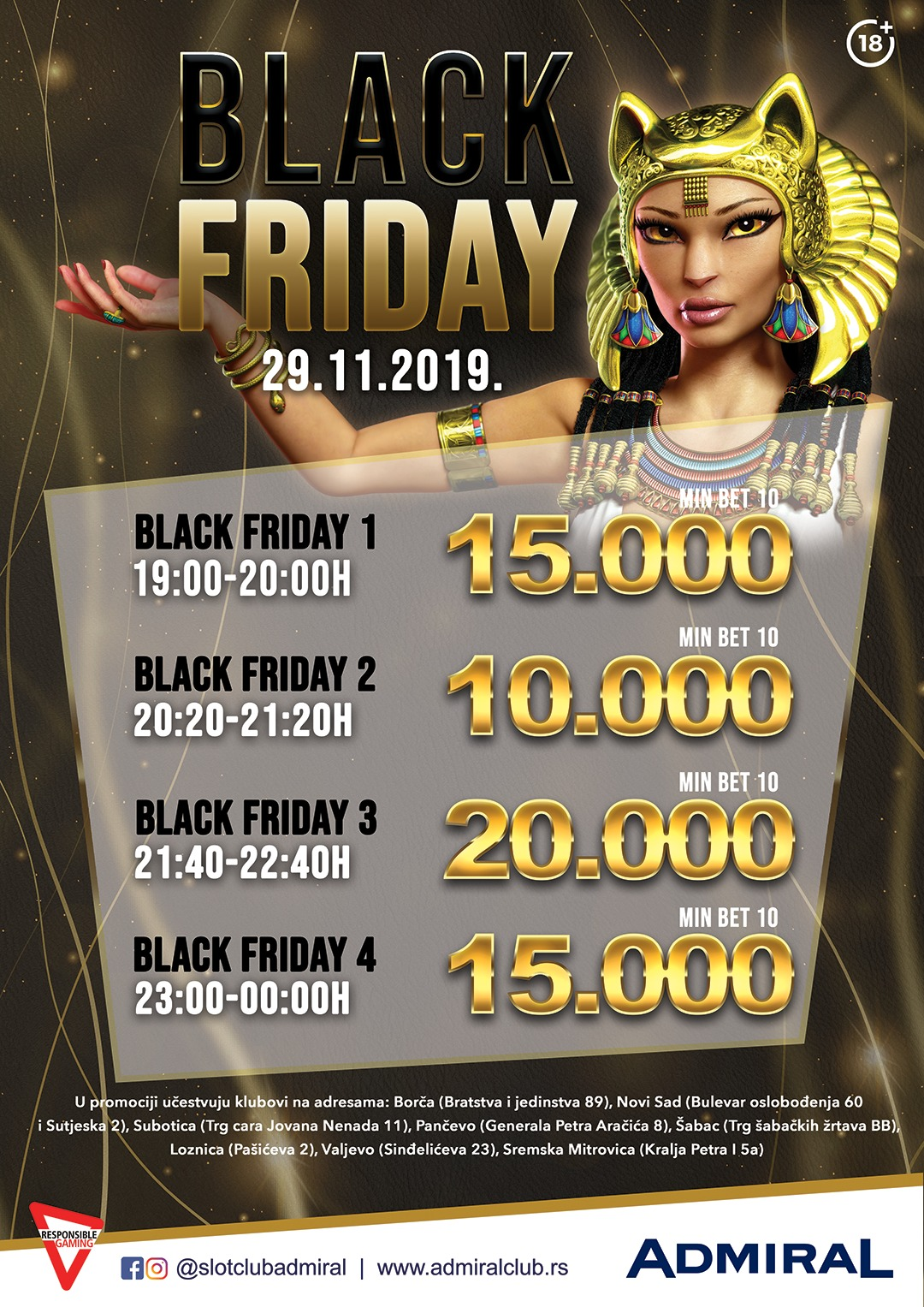 Black Friday – Severna regija