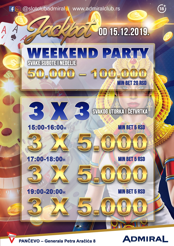 Weekend Party – Pančevo EN