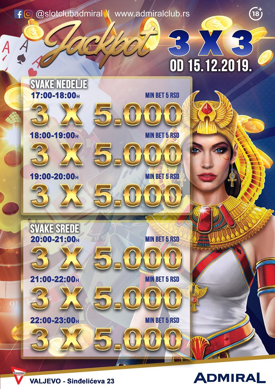 3 X 3 Jackpot – Valjevo