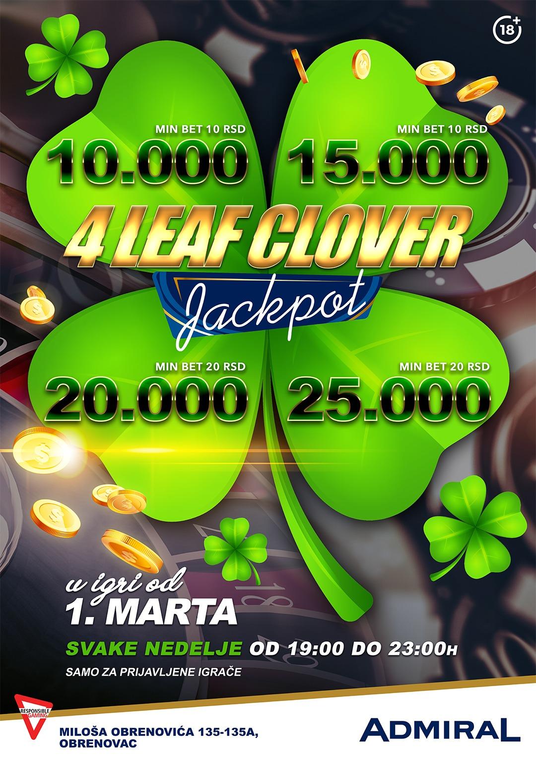4 leaf clover – obrenovac