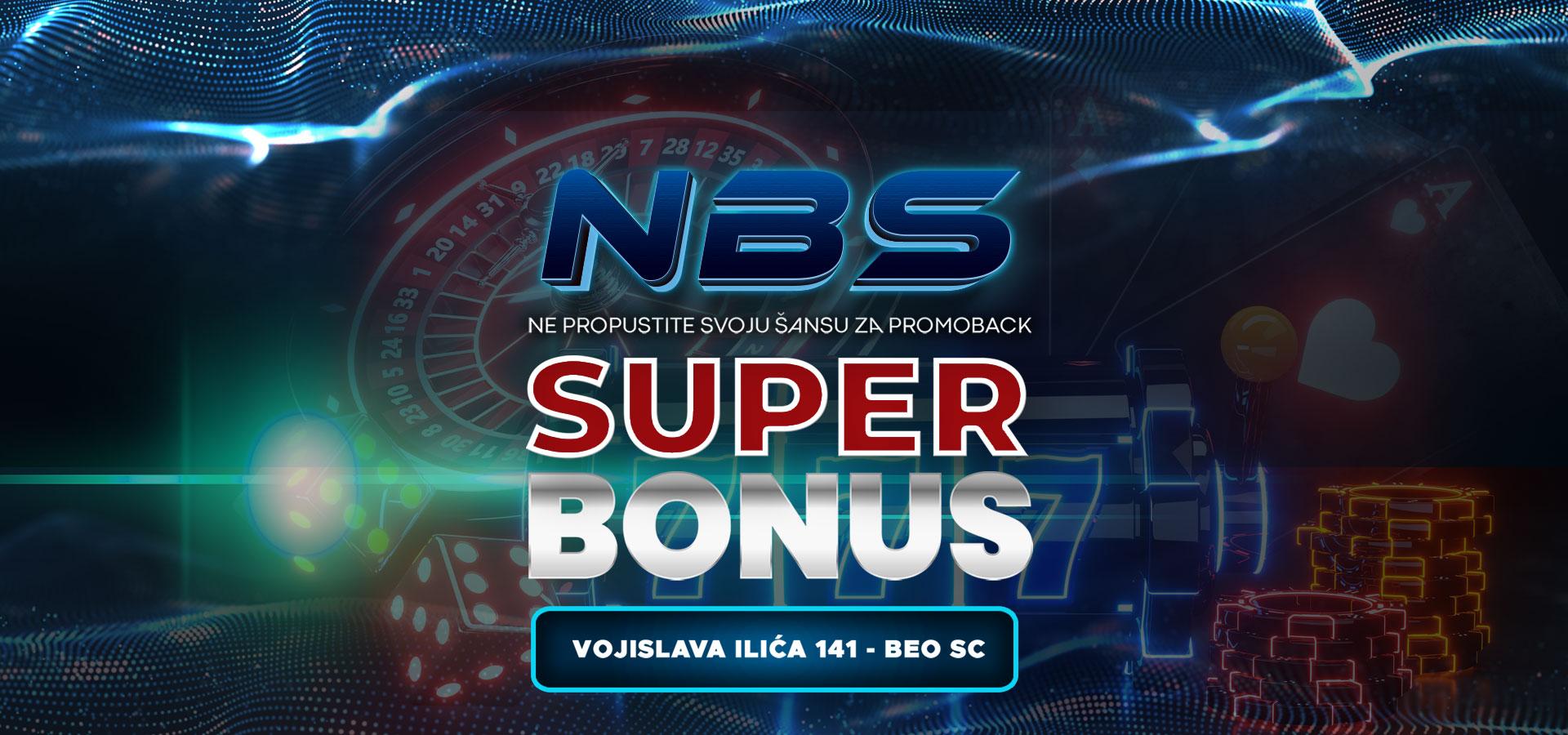NOVI SUPER BONUS!