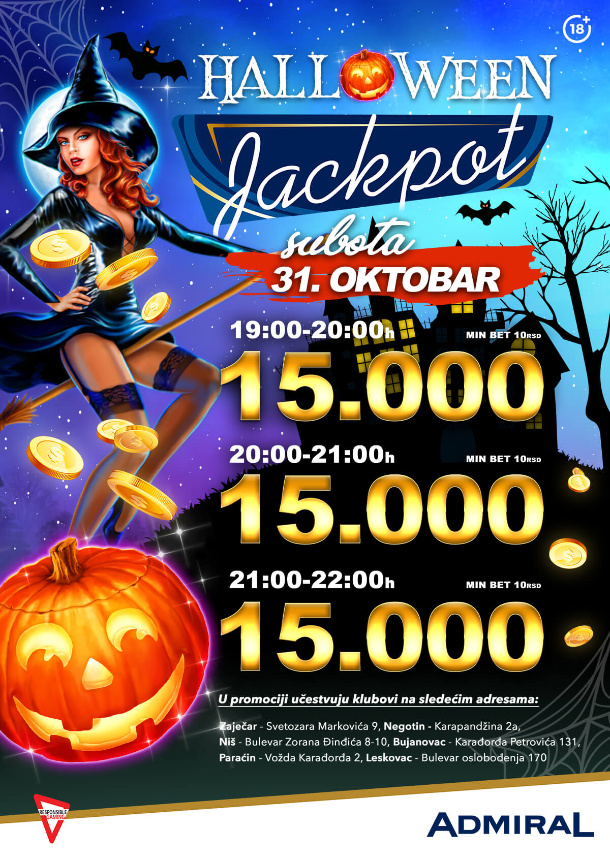 Halloween JP Negotin