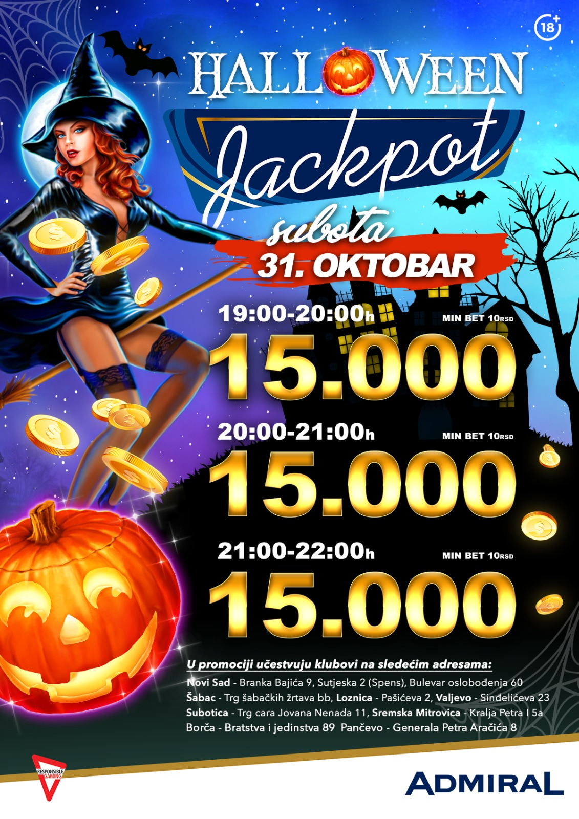 Halloween JP Novi Sad Bulevar Oslobođenja